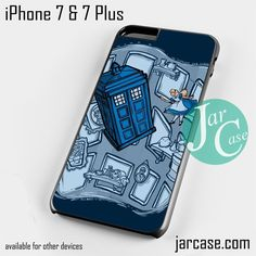 doctor who alice Phone case for iPhone 7 and 7 Plus