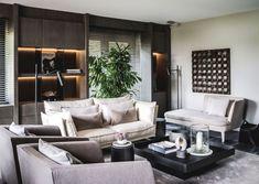 Architecture Design, Divider, Couch, Room, Villa, Furniture, Home Decor, Marcel, Van