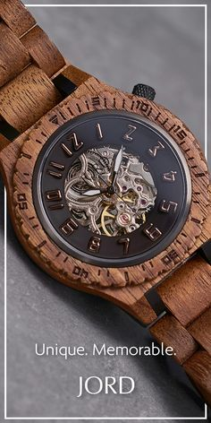 Hello Koa Automatic :) The Dover. Best Kids Watches, Cool Watches, Watches For Men, Gifts For Him, Great Gifts, Moda Formal, Unique Christmas Gifts, Wooden Watch, How To Make Handbags