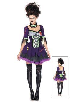 Sexy Bride of Frankenstein Costume - Women's Frankenstein Costumes