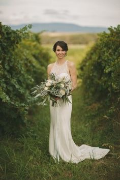 Erin and Manning's Romantic Winery Wedding   Photo by Darin Collinson http://www.darincollisonphotography.com.au/