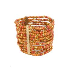 I love the RJ Graziano Beaded Stretch Bracelet from LittleBlackBag - have one almost identical