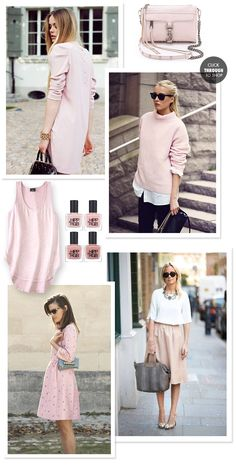 Inspired By   Pale Pink on What I Wore