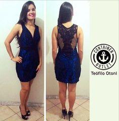 Morrendo de amores por este dress! Na Container Outlet Teó você também encontra modelos de festa. #ContainerOutlet