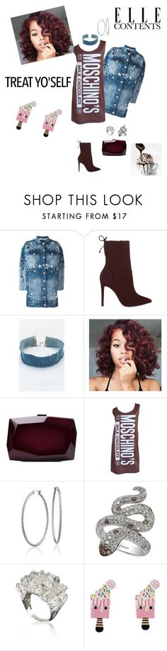 """""""Haute Chocolate 🍫"""" by foreverslayy ❤ liked on Polyvore featuring Philipp Plein, ALDO, Haus of Deck, Monique Lhuillier, Jeremy Scott, Blue Nile and LE VIAN"""