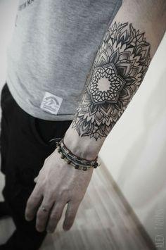 Cool mandala tattoo                                                                                                                                                      More