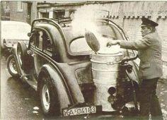 Os carros movidos a lenha (gás de gasogênio) - Autozine