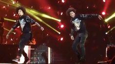 Les Twins Insane solo @ Beyoncé concert in Sportpaleis Antwerp Belgium 3...