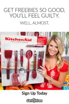 Want to start getting free samples delivered directly to your door? GetItFree.us is giving out FREE KitchenAid samples. Visit this site to sign up for free samples in the mail! Sign up today to get yours!