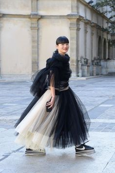 can tulle ever be a no? Japanese Street Fashion, Asian Fashion, Love Fashion, Girl Fashion, Fashion Looks, Fashion Outfits, Fashion 2018, Spring Fashion, Fashion Trends