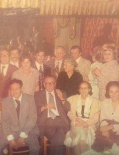 Carlo Gambino at a family event.