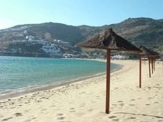 Ios, Greece. Mylopotas Beach