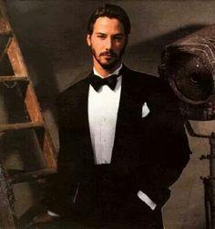 Keanu Reeves in Tuxedo
