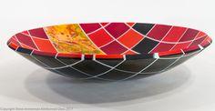 View the full portfolio of artwork from Steve Immerman Fused Glass, Stained Glass, Bullseye Glass, Glass Artwork, Orange Crush, Glass Design, Decorative Bowls, Old Things, Sculpture