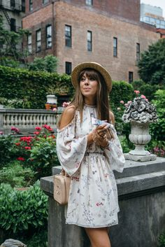 Summer floral look | Jenny Cipoletti of Margo & Me