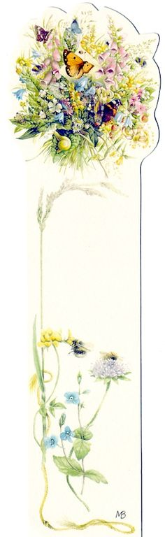 Bookmark by Marjolein Bastin, scanned by marquiselem