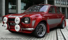model of the classic Ford Escort, rendered with many different stripe and body colours. A slection of alloy wheels from classic RS Alloys to large racing BBS rims. Escort Mk1, Ford Escort, Ford Rs, Car Ford, Retro Cars, Vintage Cars, Sport Cars, Race Cars, Automobile