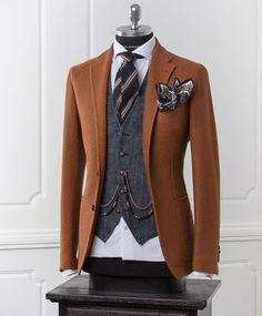 Everybody loves Suits: Photo Sharp Dressed Man, Well Dressed Men, Mens Fashion Suits, Mens Suits, Costume Original, Designer Suits For Men, Herren Outfit, Elegant Man, Gentleman Style