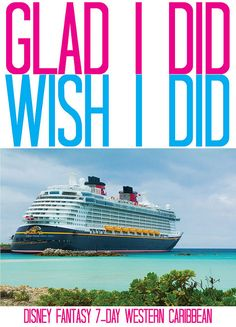 Victoria on Vacation: 2014 Disney Fantasy Western Caribbean Cruise - Gla...