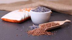 Cómo hacer una almohadilla terapéutica con semillas