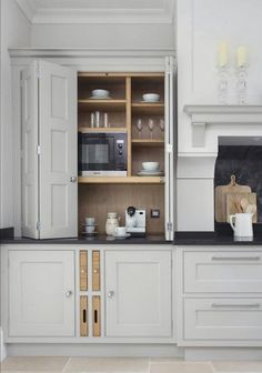there were several requests for the Farrow and Ball kitchen cabinet colors… We. - there were several requests for the Farrow and Ball kitchen cabinet colors… We mix all the colors - Farmhouse Kitchen Cabinets, Kitchen Cabinet Colors, Kitchen Rustic, Painted Kitchen Cupboards, Country Kitchen, Kitchen Modern, Kitchen Colors, Soapstone Kitchen, Neutral Kitchen