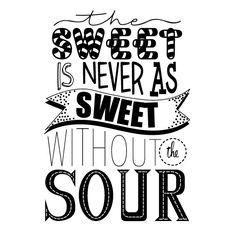 By @Barbrusheson lo dulce Nunca es tan dulce sin la acidez