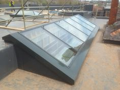 Finished installation of our PR60 glass rooflight at Devon Studio.