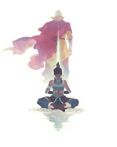 Avatar: The Legend of Korra - Korra and Aang Avatar Airbender, Avatar Aang, Team Avatar, Legend Of Aang, Legend Of Korra Ending, Mode Geek, Avatar Series, Korrasami, The Last Airbender