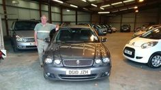 Tony with a Rare 2010 Jaguar X Type estate. Nice!
