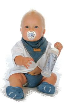 Baby Jeans - Dry Bib (Limited Edition)