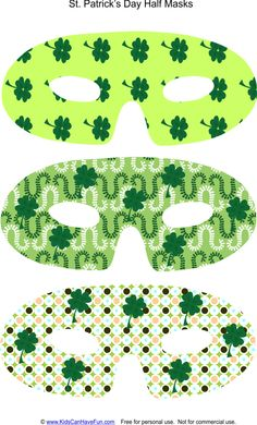 Leprechaun face pattern use the printable outline for for Leprechaun mask template