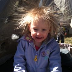 Everyone has a bad hair day ;)
