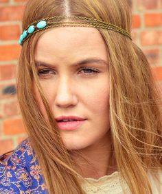 Another great find on #zulily! Turquoise Dream Headband by FPCO Limited #zulilyfinds