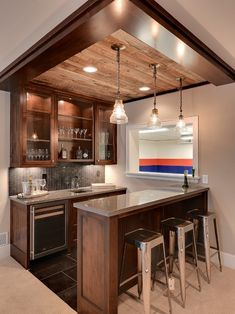 Home Design, Decorating & Remodeling Ideas — basement by Spacecrafting / Architectural...