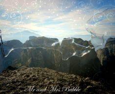 Mr and Mrs Bubble * Meteora* Kalabaka Greece