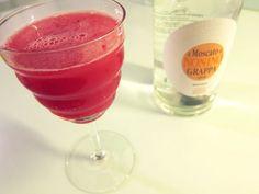 Elizabeth Minchilli in Rome: red currant + grappa {cocktail}