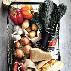 Grocery basket - Shelf life of fruit and vegetables