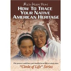 How To Trace Your Native American Heritage DVD Language: English Number of discs: 1 Rated: G (General Audience) Studio: Rich-Heape Films Native American Ancestry, Native American Cherokee, Native American Quotes, Native American History, Native American Indians, American Indian Quotes, American Symbols, American Gods, American Women