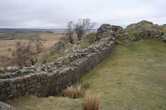 Hadrian's Wall, Walltown Crags.