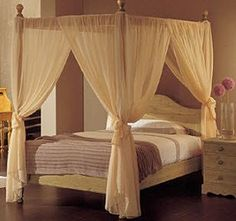 Four Poster Bed With Curtains how to build a canopy for a four poster bed frame with wood