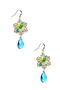 Dressing Your Truth - Type 1 Blue Pixie Earrings