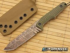 Bawidamann Custom Skraeling Green VZ Grip S35VN