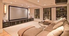 Ideas paras convertir una estancia de tu hogar en una auténtica sala de cine. #Cineencasa #Decoracion