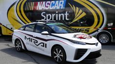 Zero-Emission Toyota Mirai Will Be Pace Car At Richmond's Toyota Owners 400
