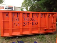 Affordable Junk Removal also has Dumpster Rentals available for Central New England. Check http://www.framinghamjunkremoval.com for information and service areas. #dumpsterrental #dumpsters #junkremoval #trashremoval #rentadumpster #dumpsterrentals