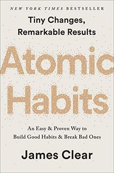 2445362469 Atomic Habits: An Easy & Proven Way to Build Good Habits & Break