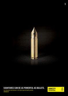 Las firmas son tan poderosas como las balas: www.amnistia.org.pe/armas