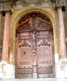 Enter to discover what's behind the doors in Dijon. Door Entryway, Europe, France, Past, Architecture Design, Burgundy, Tours, Windows, Future