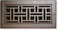 Monarch return air grille in cast bronze front view Cold Air Return, Air Vent Covers, Metal Casting, Heating Systems, Fashion Room, Oil Rubbed Bronze, New Homes, It Cast, Room Style