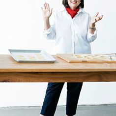 "While working as a White House budget analyst, Ina Garten longed for a more creative career. Buying a specialty food shop was the ticket to a life she adores. Since then, the beloved Barefoot Contessa has written nine cookbooks and won two Emmys for her Food Network show. Next time you invite friends over, serve a light bite from her latest book, Make It Ahead. ""Kale seems to be everywhere now,"" says Ina. ""And of course, freshly grated Parmesan cheese makes everything taste better.""…"